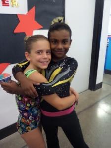 Savannah and her best buddy Arya