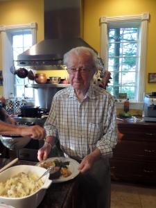Grampy Harley, born in 1915!  You look great Grampy!
