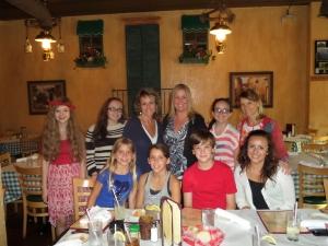 Front row: Savannah, Sky, James, Kelsee Back row: Jenna, Shelbiee, Aimee, Susy, Zoee, Leslie