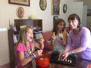 Making Witch's Fingers!