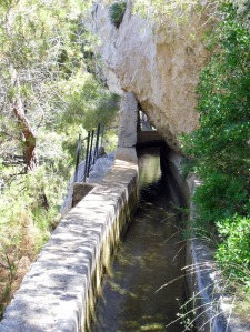 This is a picture of the acequia (aqueduct) from google images