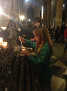 Lighting a candle for Mark Shelton