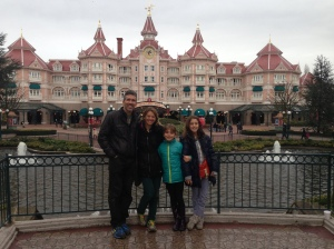 Team Kezmoh visits EuroDisney!