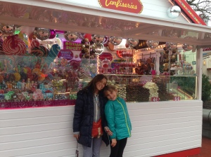 Fancy candy store