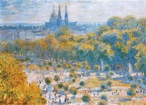 Monet Le Jardin des tuileries