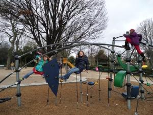 We always find a park!