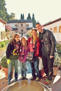 Team Kezmoh at the Alhambra