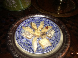 Delicious Moroccan Pastries at Riad Jardin Secret