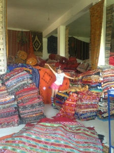 Buried in Rugs!