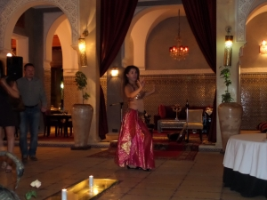 Belly dancer in Marrakech
